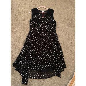 Elle Dresses - Elle sleeveless polka dot dress
